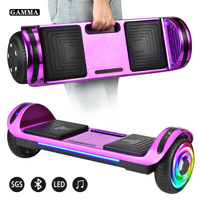 "6.5"" Hoverboard Bluetooth LED Electric Self Balance Scooter no Bag Birthday Gift"