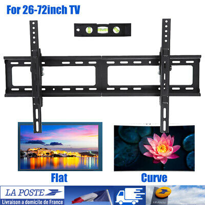 """Support TV mural orientable et inclinable 26""""-75"""" 66-190cm 32 40 42 46 50 52 55"""
