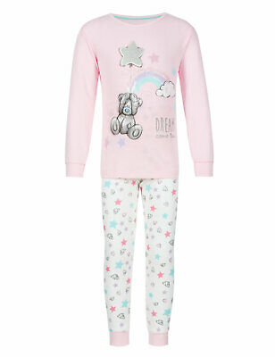 Girls Tatty Teddy Me To You Pyjamas PJs Age 3-4 Years M&S