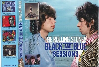 The Rolling Stones / Black And Blue Sessions / 2CD With OBI STRIP / Sealed!