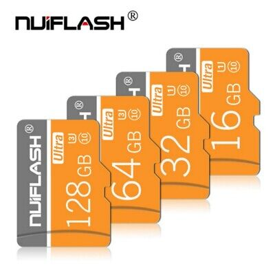 NUIFLASH 256GB 128GB 32GB  High-Speed TF-Karte With Adapter Universal TF-S-Cards