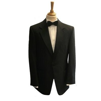 Black Evening / Tuxedo / Cruise / Ball / Party / Notch Collar Dinner Jacket