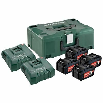Metabo Basic Set 2x 18v//2.0 Ah 685161000 Chargeur SC 60 Plus