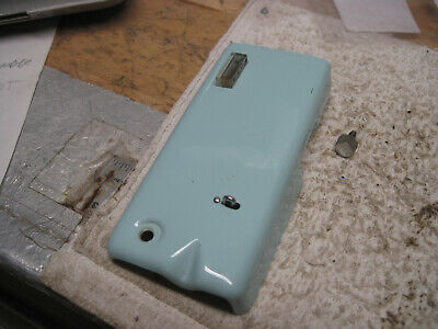 Singer Sewing Machine 347 Aqua Parts Front Service Nose Cover Door