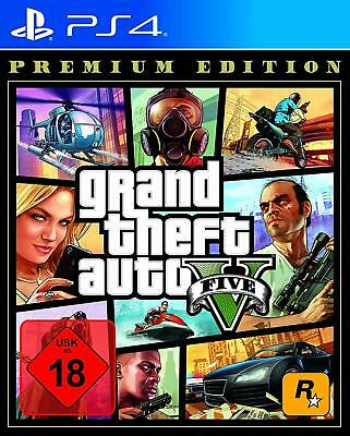 Grand Theft Auto V GTA 5 Premium Edition | deutsch | uncut | Playstation 4 PS4