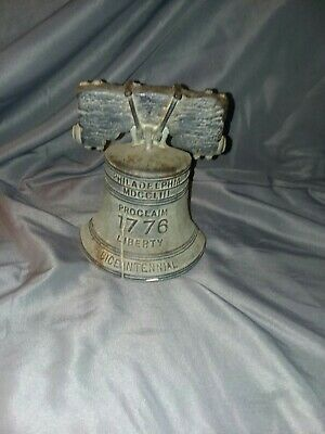 Bicentennial Liberty Bell Door Stop Cast Iron  Bicentennial Collection 1976