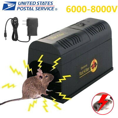 Electronic Mouse Trap Victor Control Rat Killer Pest Mice Electric Rodent Zapper