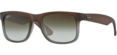 Ray-Ban Men's Justin Square Classic Sunglasses - RB4165 8547Z 54 - Made In Italy
