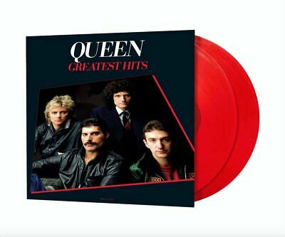 Queen Greatest Hits Limited Edition Hollywood Double Red Vinyl Lp's Mint Sealed