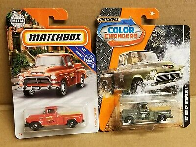 /'57 GMC Stepside #80 Matchbox 2017 Power Grabs *