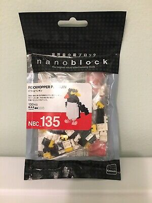 NEW NANOBLOCK Rockhopper Penguin  Nano Block Micro-Sized Building Blocks NBC-135