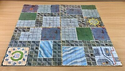 Warhammer 40K Space Crusade Game Boards Spares x 4 - Complete Set of Boards