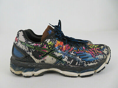 2015 ASICS GEL Nimbus 17 New York NYC Marathon Graffiti Mens