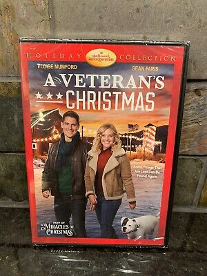 A VETERAN'S CHRISTMAS New Sealed DVD Hallmark Channel Holiday Collection
