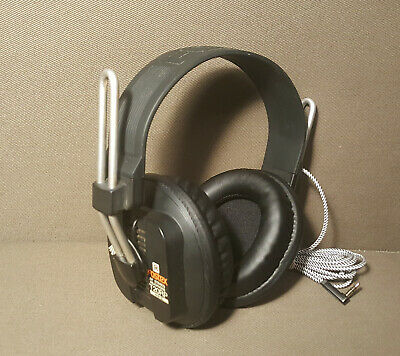 Fostex T20RP MKII orthomagnetic studio monitor headphones - new pads & cable MK2