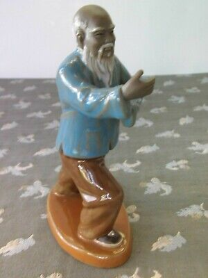 "Vtg Chinese Martial Arts Man 6 1/2""Tall"