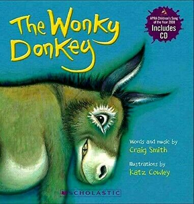 The Wonky Donkey By Craig Smith & Katz Cowley (Board book w/ CD)