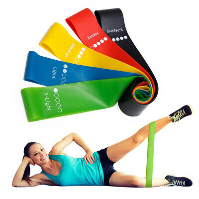 Yoge  Elastic Resistance Bands  GYM Fitness Equipment Pilates Sport Training