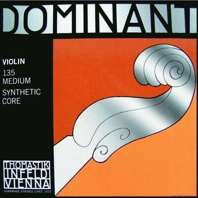 Thomastik Dominant Set Strings for Violin 4/4 - Infeld 135 Synthetic Core