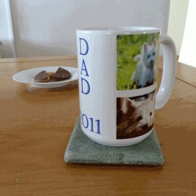 Personalised custom large/giant coffee tea cup mug. Add text/photo/name for free
