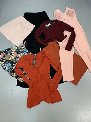 Job Lot Wholesale Bundle Resell Women's High Street Fashion Boohoo PLT Clothing