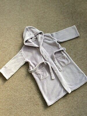 The Little White Company Girls Dressing Gown Age 7-8 Years
