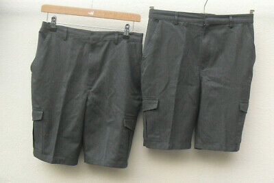 Marks & Spencer Boy's grey shorts age 13-14 years 28.75 inch waist height 164cm