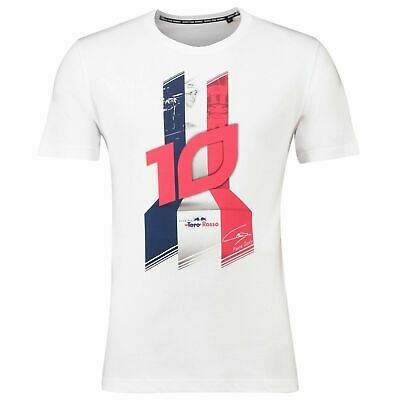 Official Scuderia Torro Rosso Pierre Gasly F1 Team T Shirt Mens Size XL