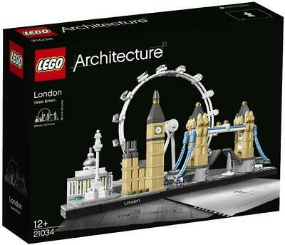 LEGO Architecture London Skyline 21034 BNIB Brand New and Sealed Lot #7
