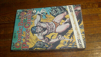 """Overstreet Comic Book Price Guide #5, 1975, """"Fine+"""", Soft Cover"""