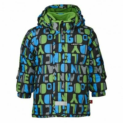 Lego Wear Tec Green & blue Johannes 606 Children's Winter Ski Coat Jacket Age 3