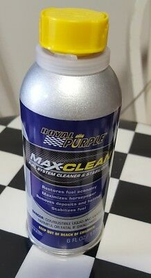 Royal Purple Max-Clean Fuel Injection Cleaner Removes Carbon Deposits Stabilizer