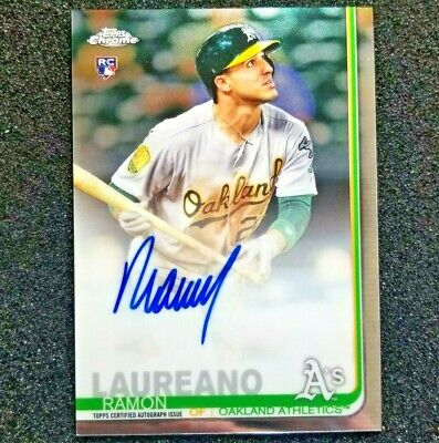 2019 Topps Chrome Baseball Autograph Card Pick Your Player Base & Refractor Auto