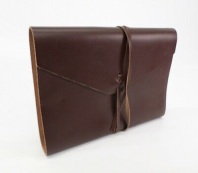 Leather Journal Diary Blank Binder Sketchbook Notepad Brown