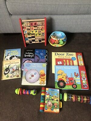 Baby Toy And Book Bundle