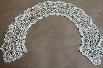 Beautiful Antique Hand Made Lace Ladies Dress Collar