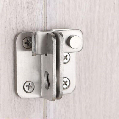 Stainless Door Bolt Latch Slide Catch Lock Home Safety Gate Box Hardware Lin