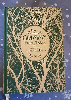 GRIMM'S FAIRY TALES 2013 - illustrated by Arthur Rackham Clothbound, great cond.