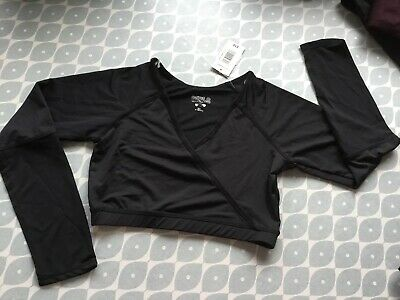 Girls Sporty Crop Top Size 10-11 BNWT
