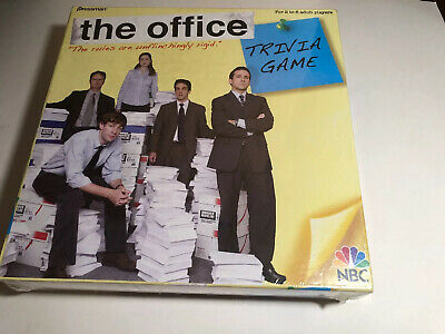 The Office Trivia Board Game NBC Pressman #4123 2008 NEW Factory Sealed in Box