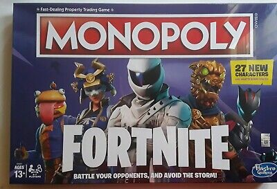 Monopoly Fortnite Edition Board Game for Ages 13 & Up