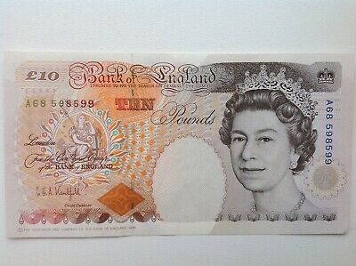 X2 Bank Of England (£20) Twenty Pound Banknotes (UNC) Consecutive Serial Numbers