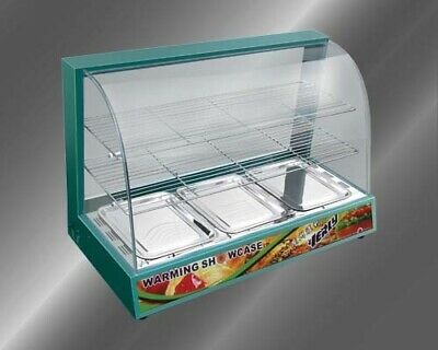 Brand New Commercial Hot Food Warmer / Display Cabinet / Pie Warmer