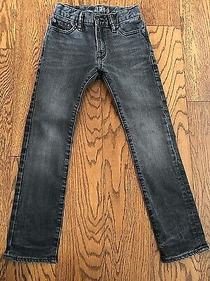 GAP Skinny black jeans, Boys, size 7yrs