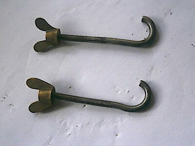Longcase Grandfather Clock  Steatboard Hooks And Nuts  C1790