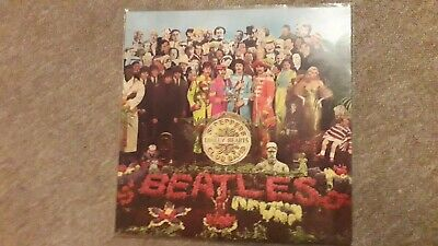 Beatles The Sgt Peppers Lonely Hearts Club Band - Vinyl LP Album Record