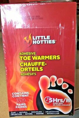 Little Hotties Toe Warmers 30 Pairs Per Box New Sealed 2 Boxes