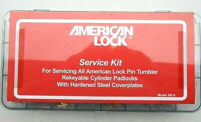 AMERICAN  PADLOCK MASTERKEYING   KIT  SK-8 For Lock Rekeying    Locksmith