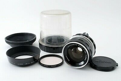 Nikon Non-AI 35mm f/2.8 NIKKOR-S MF LENS for F F2 NIKKORMAT [Exc++] from Japan