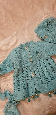 Brand New Baby Hand Knitted Outfit